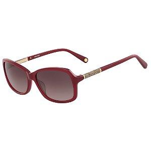 Óculos de Sol Nine West NW627S 602 - 57 - Vermelho