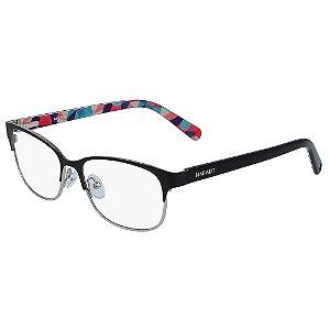 Armação de Óculos Nine West NW1088 001 - 49 - Preto