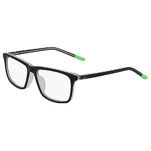 Armação de Óculos Nike 5541 012 - 48 - Preto - Infantil