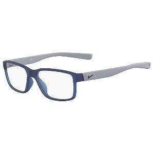 Armação de Óculos Nike 5092 400 - 48 - Azul - Infantil