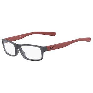 Armação de Óculos Nike 5090 066 - 50 - Vermelho - Infantil