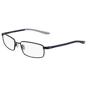 Armação de Óculos Nike 4301 406 - 52 - Memory Metal