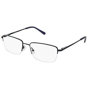 Armação de Óculos Marchon NYC M-2016 410 - 55 - Preto