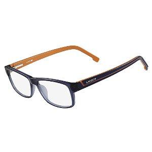 Armação de Óculos Lacoste L2707 421 - 53 - Laranja