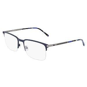 Armação de Óculos Lacoste L2268 424 - 57 - Azul