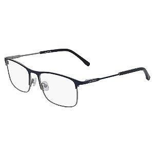 Armação de Óculos Lacoste L2252 424 - 54 - Azul