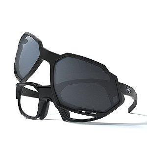 Armação de Óculos HB RUSH Performance Matte Black - Clip On