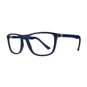 Armação de Óculos HB Polytech 0366 Ultramarine Blue - 56