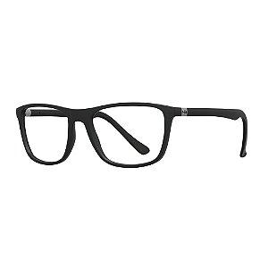 Armação de Óculos HB Polytech 0366 Matte Black - 56
