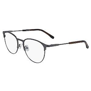 Armação de Óculos Lacoste L2251 033 - 52 - Cinza