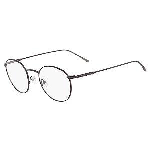 Armação de Óculos Lacoste L2246 033 - 48 - Marrom