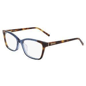 Armação de Óculos DKNY DK5034 240 - 53 - Marrom - Gatinho