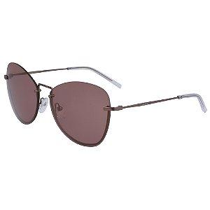 Óculos de Sol DKNY DK100S 608 - 57 - Vermelho