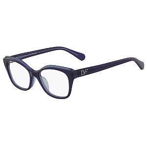 Armação de Óculos Diane Von Furstenberg DVF5097 400 /51 Roxo