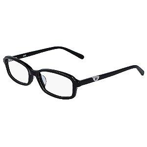 Armação de Óculos Diane Von Furstenberg DVF5119 001 52 Preto