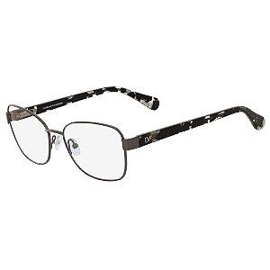 Armação de Óculos Diane Von Furstenberg DVF8050 033 - Marrom