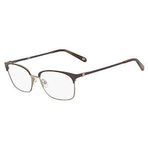 Armação de Óculos Diane Von Furstenberg DVF8068 210 - Marrom