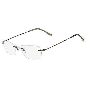 Armação de Óculos Calvin Klein CK7503 029 - 53 - Titanium