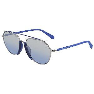 Óculos de Sol Calvin Klein Jeans CKJ19305S 400 - 56 - Azul