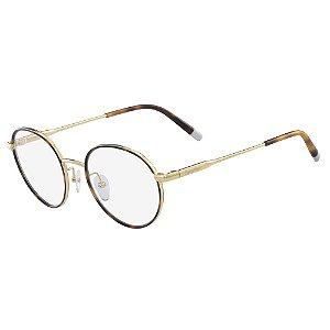 Armação de Óculos Calvin Klein CK5449 714 - 50 - Dourado
