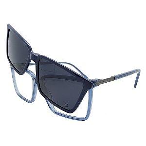 Óculos Clip On Plug  4688 - Lente Noturna / Azul - 3 em 1