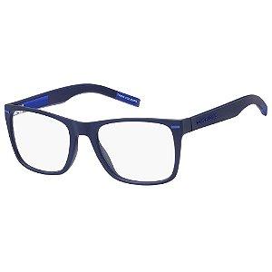 Armação para Óculos Tommy Hilfiger TJ 0045 ZX9 / 52 - Azul