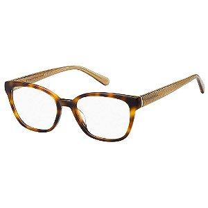 Armação para Óculos Tommy Hilfiger TH 1840 05L / 52 - Marrom