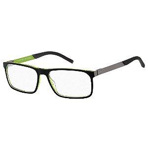 Armação para Óculos Tommy Hilfiger TH 1829 7ZJ / 57 - Preto