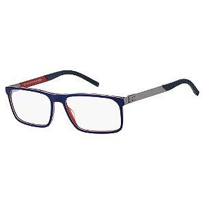 Armação para Óculos Tommy Hilfiger TH 1829 PJP / 57 - Azul