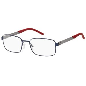 Armação para Óculos Tommy Hilfiger TH 1827 FLL / 57 - Azul