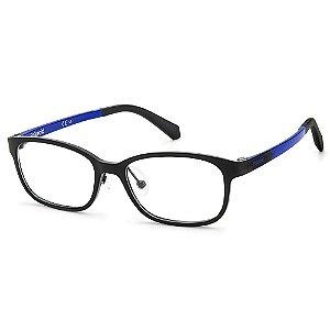 Armação para Óculos Polaroid PLD D821 D51 /48 - 9 a 16 anos