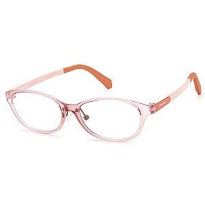 Armação para Óculos Polaroid PLD D820 6R2 /48 - 9 a 16 anos