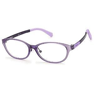 Armação para Óculos Polaroid PLD D820 RY8 /48 - 9 a 16 anos