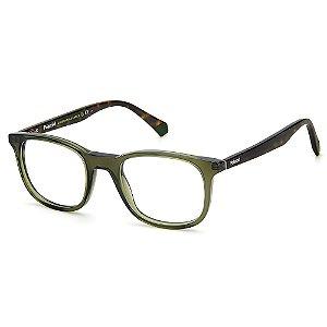 Armação para Óculos Polaroid PLD D424 /50 Verde - Polarizado