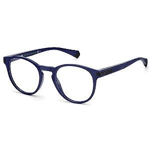 Armação para Óculos Polaroid PLD D418 49 - Azul - Polarizado