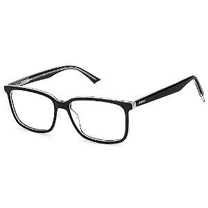 Armação para Óculos Polaroid PLD D394 / 55 - Preto - Clip-On