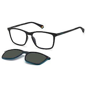 Armação para Óculos Polaroid PLD 6139/CS 807 / 55 - Clip-On