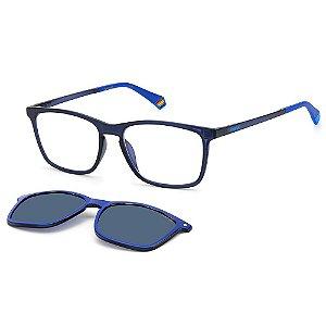 Armação para Óculos Polaroid PLD 6139/CS PJP / 55 - Clip-On