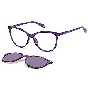 Armação para Óculos Polaroid PLD 6138/CS B3V / 53 - Clip-On