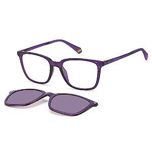 Armação para Óculos Polaroid PLD 6136/CS B3V / 51 - Clip-On