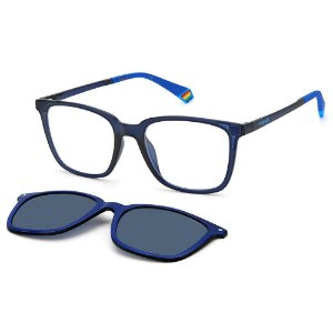 Armação para Óculos Polaroid PLD 6136/CS PJP / 51 - Clip-On