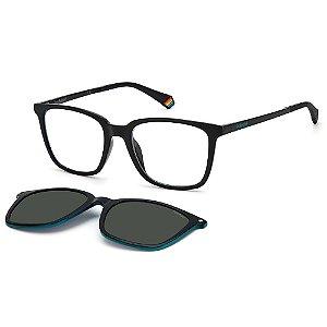 Armação para Óculos Polaroid PLD 6136/CS 807 / 51 - Clip-On
