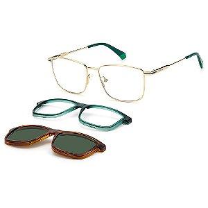 Armação para Óculos Polaroid PLD 6134/CS J5G / 54 - Clip-On