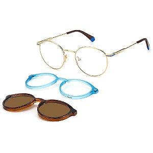 Armação para Óculos Polaroid PLD 6132/CS QWU / 51 - Clip-On