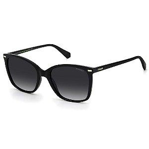 Óculos de Sol Polaroid PLD 4108/S / 55 - Preto - Polarizado