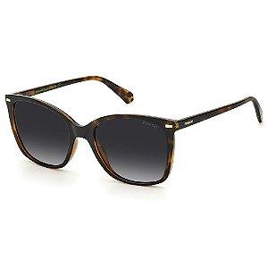 Óculos de Sol Polaroid PLD 4108/S / 55 - Marrom - Polarizado