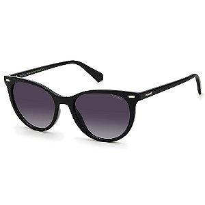 Óculos de Sol Polaroid PLD 4107/S  / 52 - Preto - Polarizado