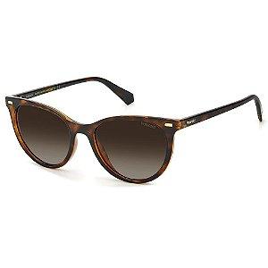 Óculos de Sol Polaroid PLD 4107/S / 52 - Marrom - Polarizado