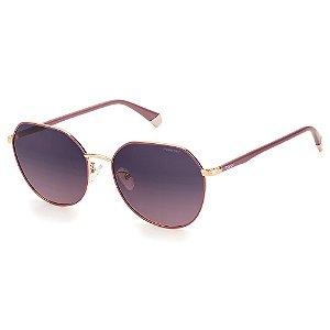 Óculos de Sol Polaroid PLD 4106/G/S  / 59 Vinho - Polarizado