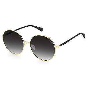 Óculos de Sol Polaroid PLD 4105/G/S /60 Dourado - Polarizado